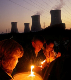 coal power station vigil